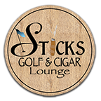 Sticks Golf & Cigar Lounge Logo