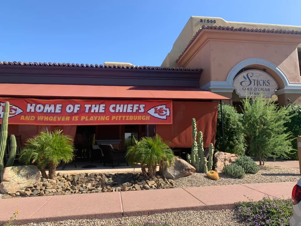 Chief's Game at Sticks